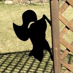 Ozdoba do ogrodu Wiewióra na ogrodzeniu