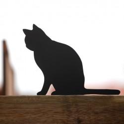 Strach na wróble kot Anatol na płocie