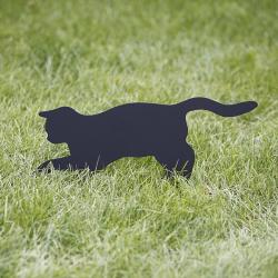 Ozdoba do ogrodu Kot Pineska wbity w trawnik - prezent dla kociary