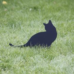 Kot Nana ozdoba ogrodowa wbita w trawnik