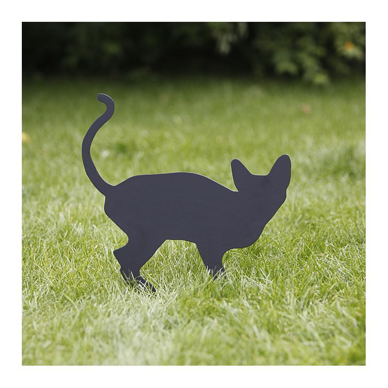 Prezent dla miłośnika kotów - Kot Koreks wbity w trawnik