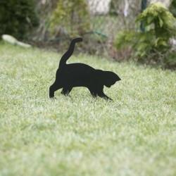 Tosia kot gadżet dla kociarza wbity w trawnik