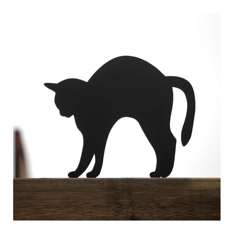 Straszak na gryzonie - Kot Fuslapa na płocie