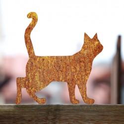 Kot Rdzawy Lump na płocie