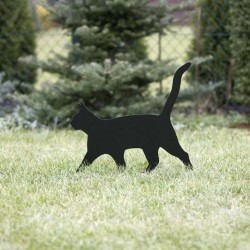Ozdoba ogrodowa Kot Lolek na trawniku