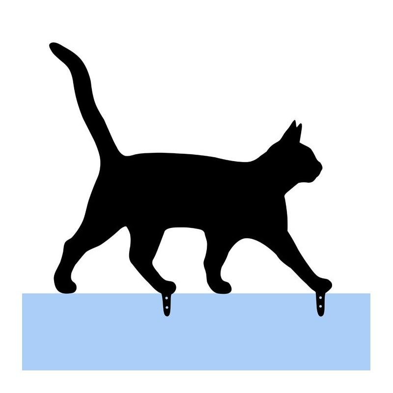 Kot ozdoba ogrodowa